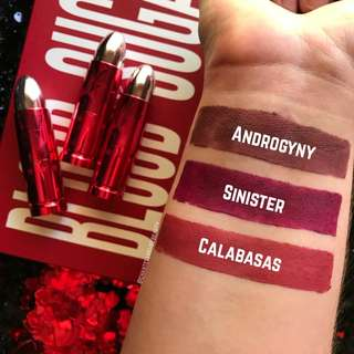 [QUICK PO] Jeffree Star Lip Ammunition Valentines Collection