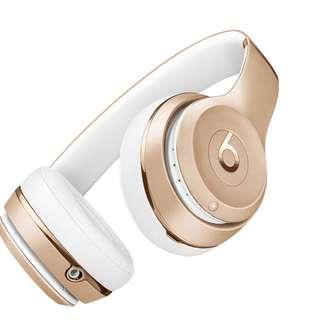 [BNIB] Beats Solo3 Wireless On-Ear Headphones – Gold
