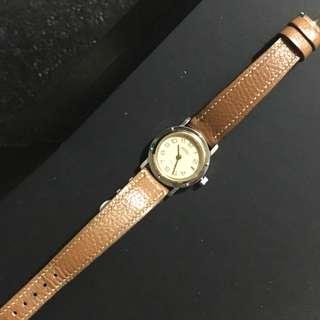 中古 Hermes Watch 8成半新  女裝腕錶 皮帶款