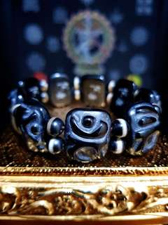 Dzi Beads Bracelet (八大守护神)