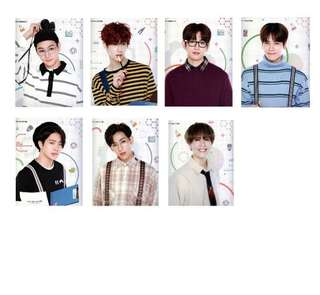 GOT7 4th Fanmeeting Photocards