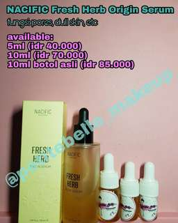 Shared in bottle_NACIFIC (NATURAL PACIFIC) Fresh Herb Origin Serum