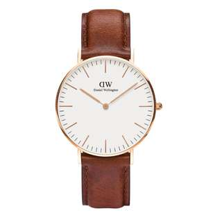 NEW Daniel Wellington St Mawes Men's Watch in Rosegold