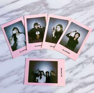 Blackpink Square Up Polaroids