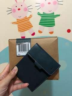 Coin Fold Wallet Blue-steel