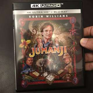 (4K UHD) Jumanji 4k UHD  Blu-ray