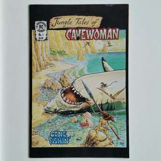 Jungle Tales of Cavewoman No.1 comic