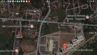 Tagaytay near SMDC Wind Residences beside 711