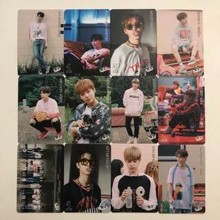 Wanna One Yes! Card 專輯卡 part1 白卡 #25-36