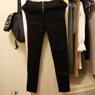 🚚 全新拉鍊黑褲