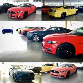 UNREG RECOND Mustang GT 5.0 2016