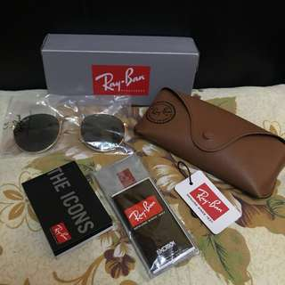 Rayban Round Metal rb3447 50mm