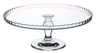 Pasabahce Patisserie Footed Serving Plate