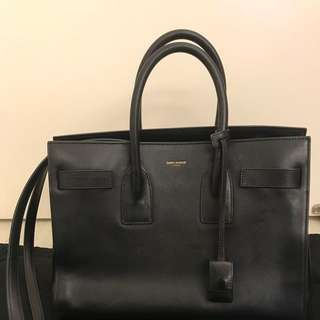 Saint Laurent YSL Sac De Jour handbag