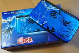 Nintendo 3DS XL with pokemon X and Alpha sapphire *comes with charger and box*