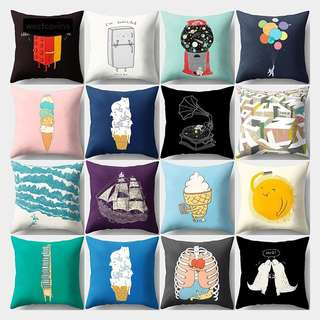 Pillow Case Cover Cushion Sofa Cute Tumblr Cartoon throw