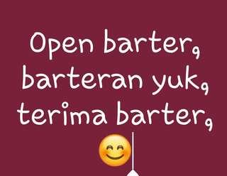 Terima barter open barter