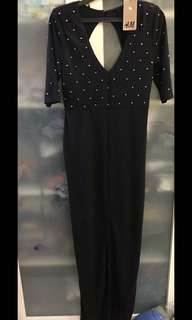 H&M long gown new with tag