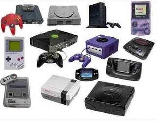 LF: Retro Game Consoles