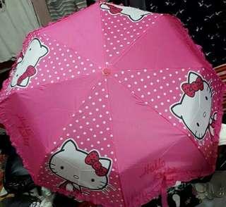 hello kitty folding umbrella