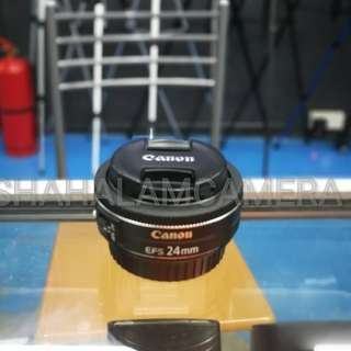 (USED) CANON EF-S 24MM F/2.8 STM LENS