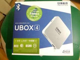 台灣安博盒子 UBOX4代全新升級版(藍芽)