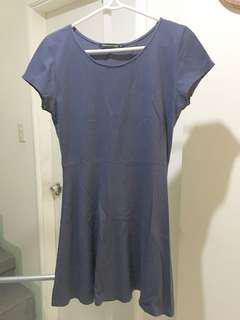 Midnight blue short dress