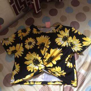 sunflower shirt (jukaykay)