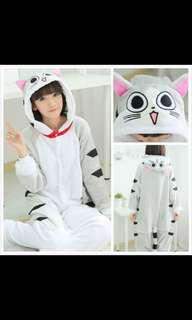 Cosplay Pajamas Kugurumi The Cat