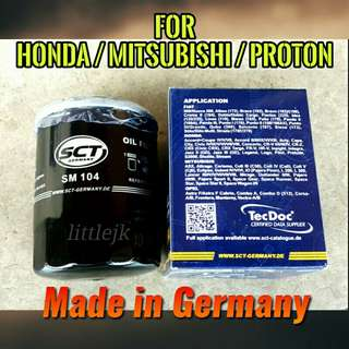 Premium Oil Filter for HONDA MITSUBISHI PROTON