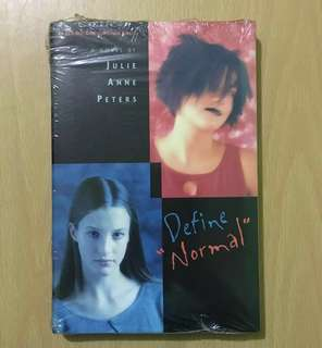 Define Normal by Julie Anne Peters