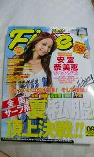 安室奈美惠Fine2009年9月雜誌封面及內頁