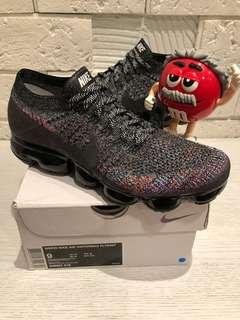 🚚 M錐二手美品買賣交流站 Nike air vapormax flyknit 編織鞋 彩色 氣墊 30週年紀念 CNY