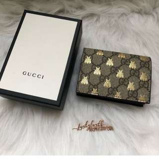 Gucci Marmont 小銀包 小蜜蜂patten