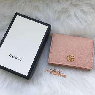 Gucci Marmont Wallet 荔枝皮銀包