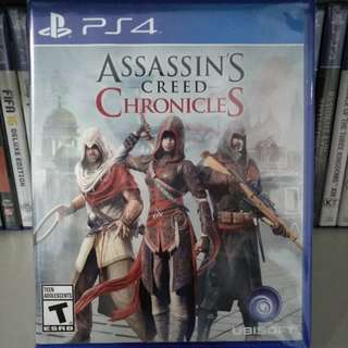 PS4 - Assassin's Creed Chronicles