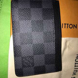 LV cardholder 100% new full set (bought from Paris by friend) 減價重post