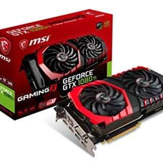 MSI GTX 1080TI GAMING 顯示卡