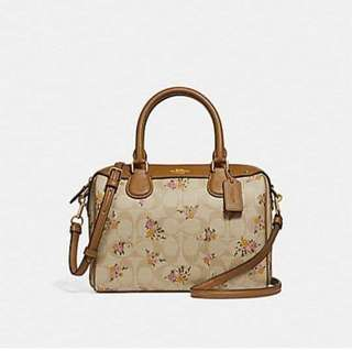 ORIGINAL COACH MINI BANNET SATCHEL