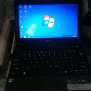 Notebook D255 Acer Warna Hitam DI jamin Awet