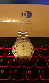 Diners Club 大來信用卡 Tag Heuer 款石英手錶
