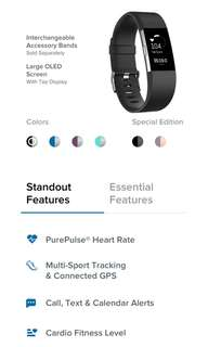 (CHEAPEST!!!) FITBIT CHARGE 2 in BLACK S SIZE