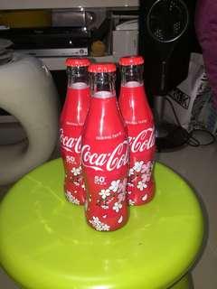 全新 台灣 50周年 特別版可口可樂 50th 相伴台灣 玻璃瓶