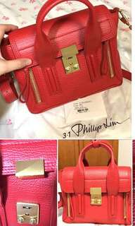 Phillip lim red mini size