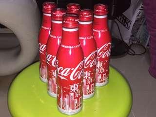 全新 日本 東京限定 東京版 Tokyo 可口可樂 鐵瓶