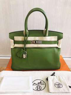 2nd Hermes B30 pelouse swift #M