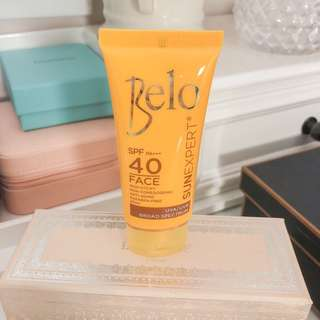Belo sun expert face sunscreen / sun block • spf pa+++ 40 • 20ml • it is brand new as listed