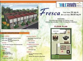 House and lot Fresca RH Inner