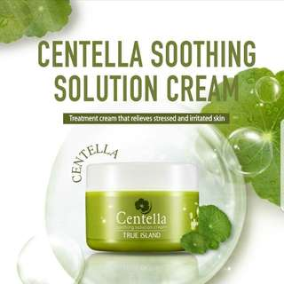 🚚 CENTELLA SOOTHING SOLUTION CREAM by NAFURA / 55ml.  Processing proceed upon full payment received via bank transfer.