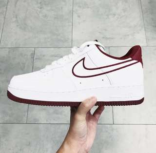 "Nike Air Force 1 Low '07 ""Leather White/Red"""